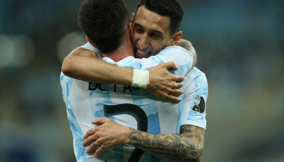 Argentina venció 1-0 a Brasil con gol de Di María y es campeón de América luego de 28 años.