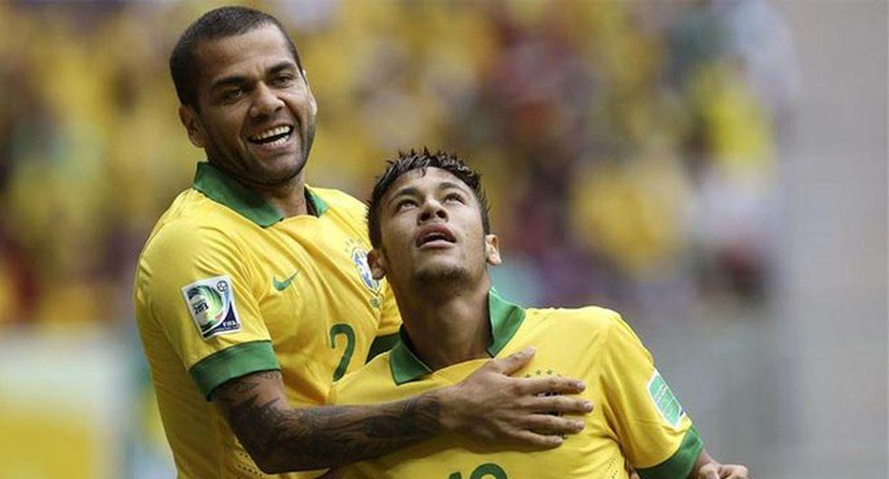 "Dani Alves a Neymar: ""Le he dicho que aprenda de sus errores"""