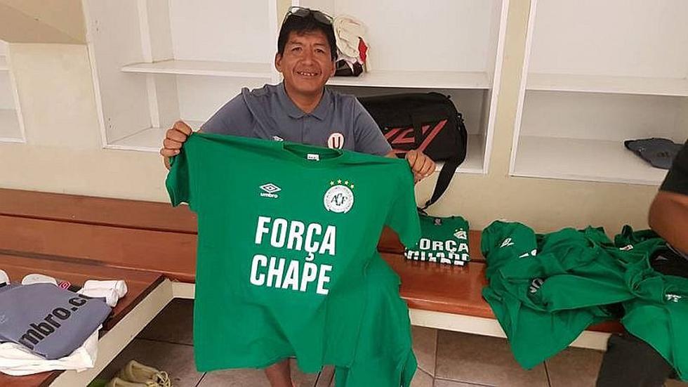 Univeristario de Deportes: Mostrarán polo en solidaridad con Chapecoense