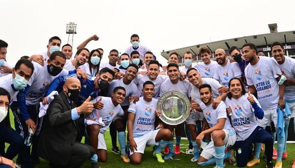 Sporting Cristal ya aseguró un cupo a la Copa Libertadores 2022 tras ganar la Fase 1. (Foto: Liga 1)