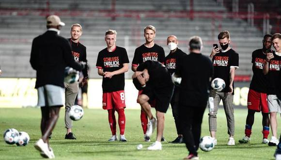 Unión Berlín venció al Padderborn y estará una temporada más en la Bundesliga. (Foto: Bundesliga)