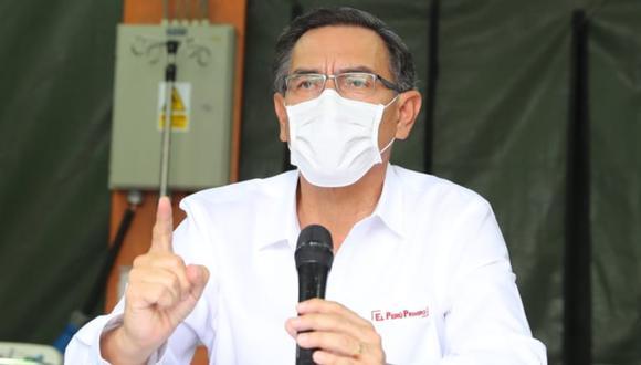 Martín Vizcarra EN VIVO, día 20 del estado de emergencia por coronavirus (Foto: GEC)