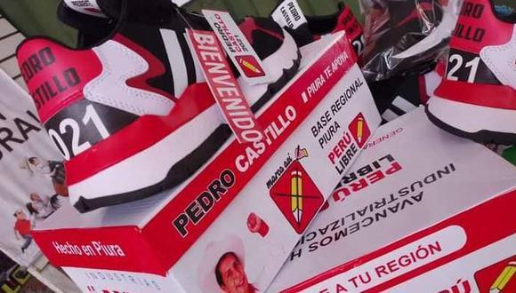 El periodista, Beto Ortiz calificó de horrendas y baratas las zapatillas que llevan el diseño de Pedro Castillo. (Foto: Facebook)