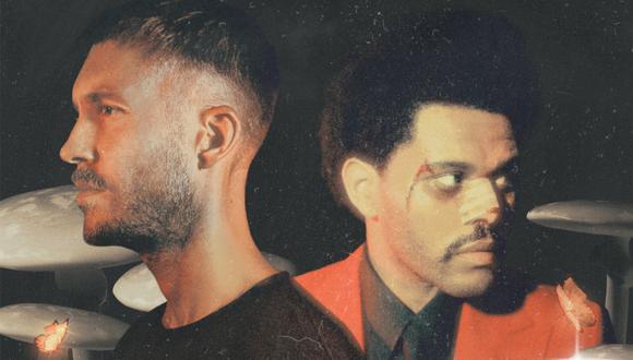 """Calvin Harris y The Weeknd estrenaron su nuevo tema """"Over Now"""". (Foto: Sony Music)"""