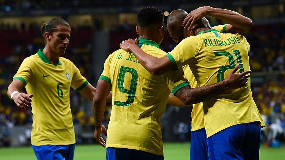 Perú vs. Brasil: el sorpresivo once de Tite para choque ante la bicolor por la Copa América 2019 | FOTOS