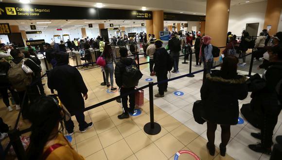 Gobierno apunta a reiniciar operaciones de vuelos internacionales hacia Estados Unidos, México, España, Chile, Argentina y Brasil en una primera etapa. (Foto: Jesús Saucedo / GEC)