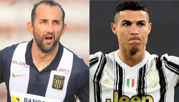Hernán Barcos no solo jugó con Leo Messi en la selección de Argentina. Además, fue comparado con Cristiano Ronaldo, figura de la Juventus