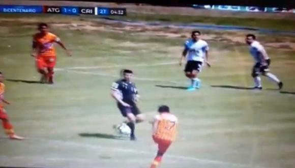 Atlético Grau vs. Sporting Cristal: ¿Estuvo bien anulado el gol local tras chocarle el balón al árbitro? | VIDEO