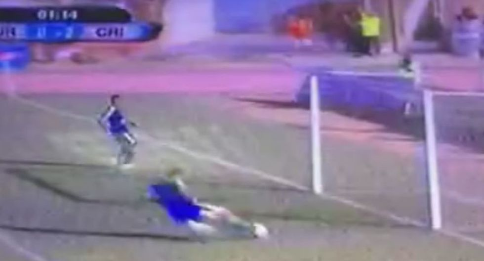 Sergio Blanco y el blooper que se mandó en el Juan Aurich vs Sporting Cristal [VIDEO]
