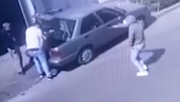 Ladrón llevaba un arma. (Foto: captura de pantalla | Panamericana)