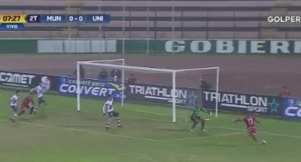 Diego Manicero anota de contra tras débil resistencia de Julio Aliaga