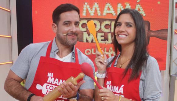 """""""No conquisté a mi esposa por el estómago, la conquisté haciéndola reír"""", dijo Óscar del Poral. (GV)"""