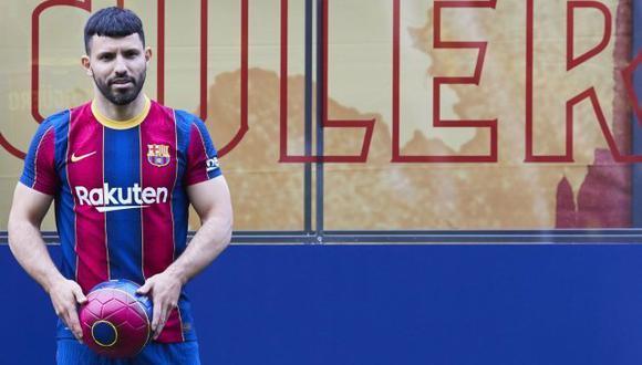 Sergio Agüero llegó a coste cero al Barcelona desde el Manchester City. (Foto: FCB)