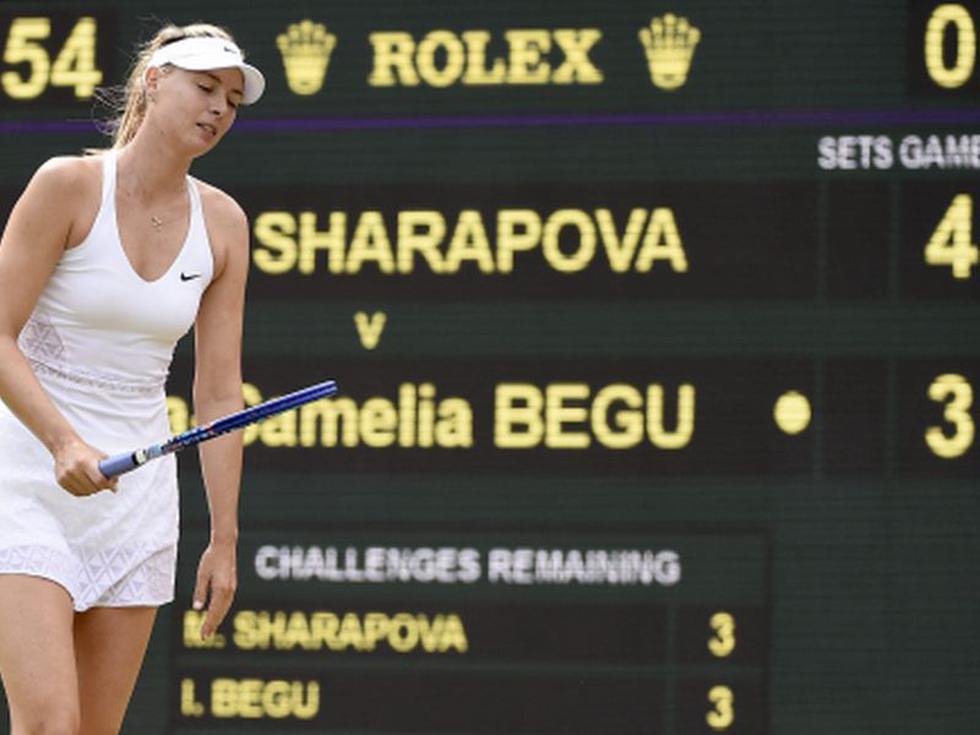 Wimbledon 2015: María Sharapova avanzó a octavos de final [FOTOS]
