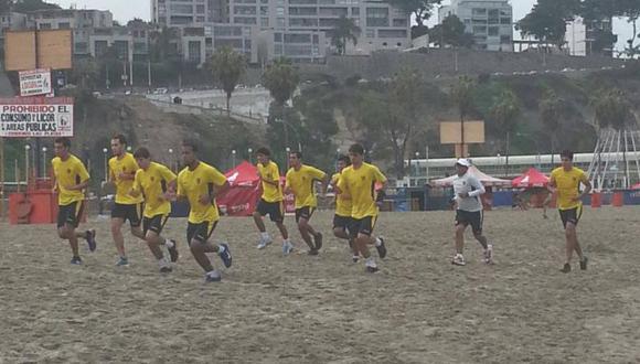 Cienciano inició la pretemporada en la playa Agua Dulce