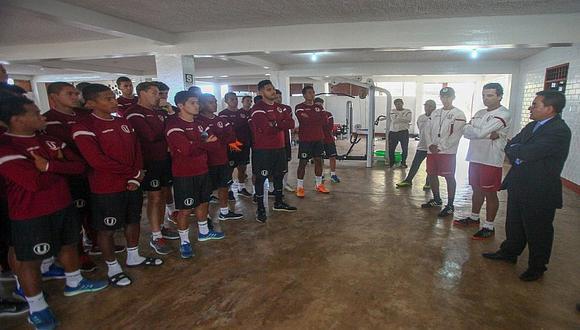 Universitario de Deportes presentó a su nuevo DT interino