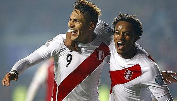 Selección peruana: André Carrillo respalda a Paolo Guerrero con mensaje