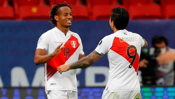 La selección peruana mejoró la clasificación en el reciente Ranking FIFA. (Foto: AFP)