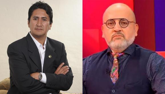 El secretario general de Perú Libre, arremetió contra el conductor de televisión.