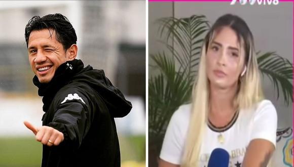 Macarena Gastaldo  fue vinculada a Gianluca Lapadula por una fiesta donde habrían participado futbolistas y la modelo. (Foto: Captura ATV / Instagram @gianluca_lapadula_oficial)