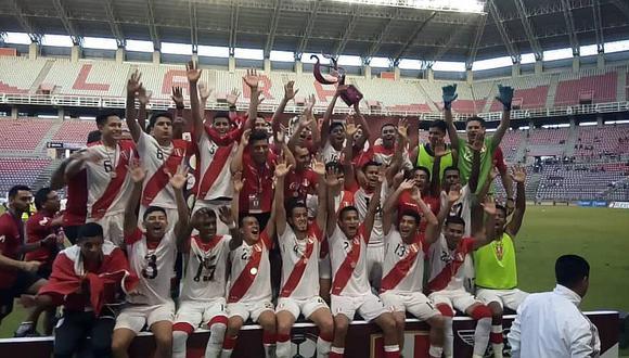Selección peruana Sub-20 sorprende con título en Venezuela