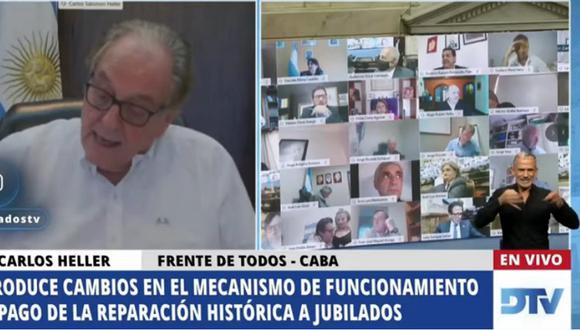 El diputado Juan Emilio Ameri ha sido suspendido. (Foto: Captura YouTube)
