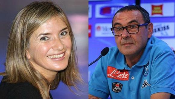 La desagradable respuesta machista del DT de Napoli a una periodista [VIDEO]