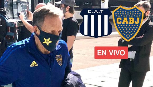 Boca Juniors vs. Talleres EN VIVO   ONLINE   EN DIRECTO el partido de la cuarta jornada de la Copa de la Liga Profesional en el estadio Mario Alberto Kempes