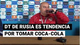 Coca Cola en la Euro: DT de Rusia hizo esto en respuesta a Cristiano