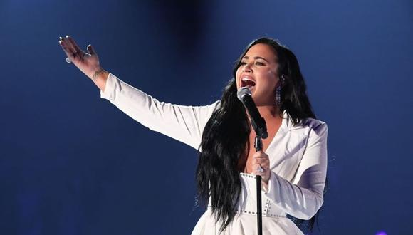 "Demi Lovato cantó ""Commander In Chief"" en los Billboard Music Awards. (Foto: @ddlovato)"