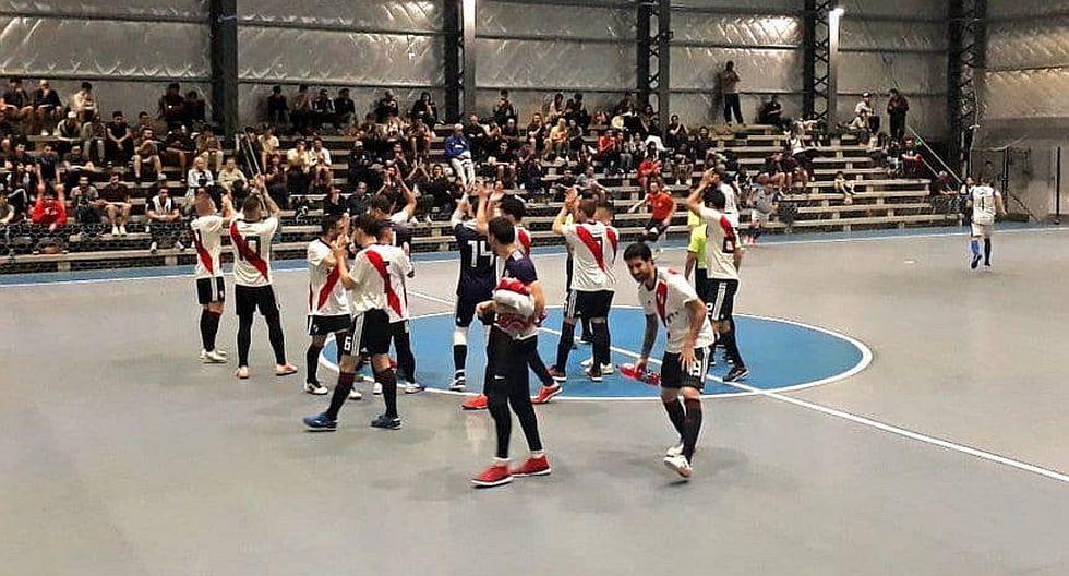Historico: por primera vez en su historia River Plate desciende a la B en el Futsal    VIDEO