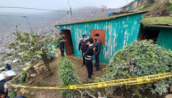 En esta vivienda fue asesinada y enterrada  Feliciana Huamán Salas. (Foto: GEC)