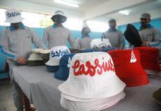 'Maranguita': internos trabajan en la elaboración de prendas para pagar reparación civil