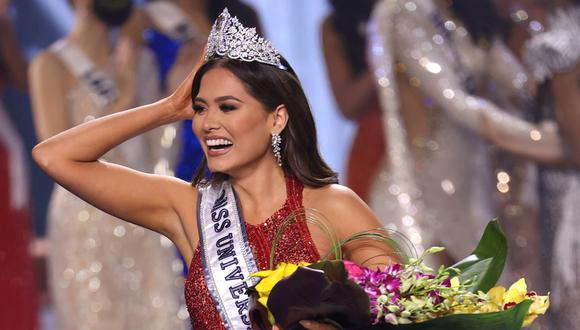 La representante de México, Andrea Meza, se convirtió en la sucesora de Zozibini Tunzi, Miss Universo 2020.