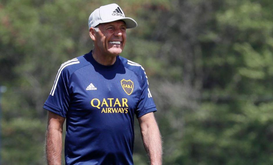 Miguel Ángel Russo llegó al banquillo de Boca Juniors esta temporada, tras dirigir a Alianza Lima. (Foto: Agencias)
