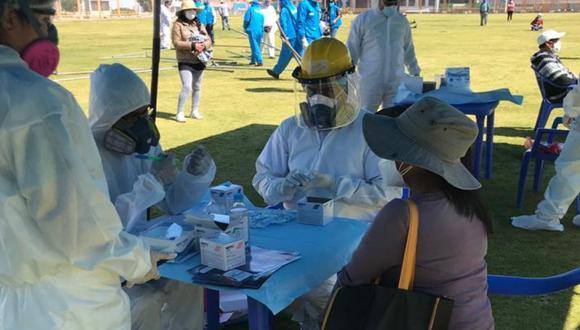 De acuerdo con los organizadores, la actividad se realizará en el parque Mayta Cápac a las 9:00 a.m. y se realizará 900 pruebas a las dirigentes que han sido empadronadas. (Foto: Essalud)