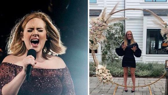 Adele confirmó su relación con Rich Paul con tierna fotografía. (Foto: AFP/@adele)
