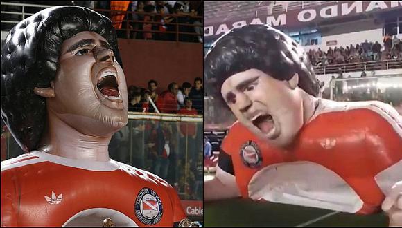 El homenaje de Argentinos Juniors a Maradona en duelo por la Superliga