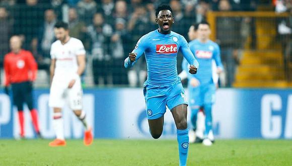 La promesa del Napoli que rechazó a Italia para jugar por Guinea