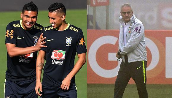 Perú vs. Brasil: Casemiro y Marquinhos respaldan a Tite tras rumores de su salida luego de la Copa América