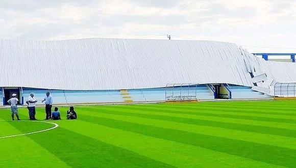 Tumbes: techo de estadio se desplomó antes de inaugurarse [VIDEO]