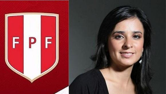 Selección peruana: Romina Antoniazzi no es más jefa de prensa en la FPF | FOTO