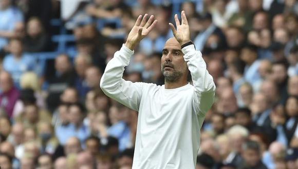 Pep Guardiola se marchará de Manchester City y luego intentará dirigir a una selección nacional. (Foto: AP)