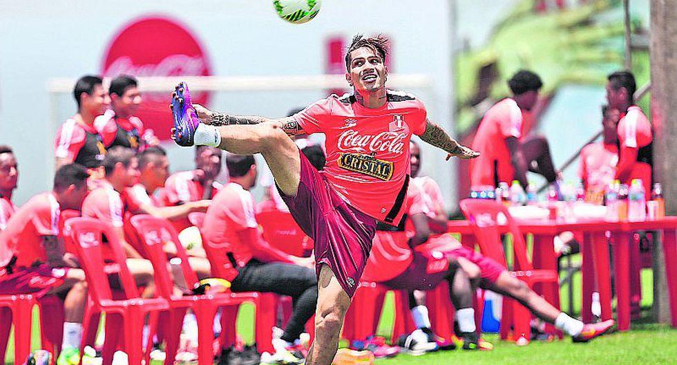 Perú vs. Paraguay: Paolo Guerrero, recuperado y firme, la carta de gol