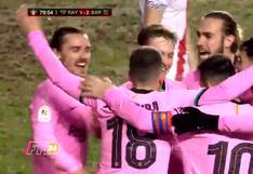 Barcelona vs. Rayo Vallecano: Frenkie de Jong anota el 2-1 de los azulgranas tras genial jugada colectiva | VIDEO