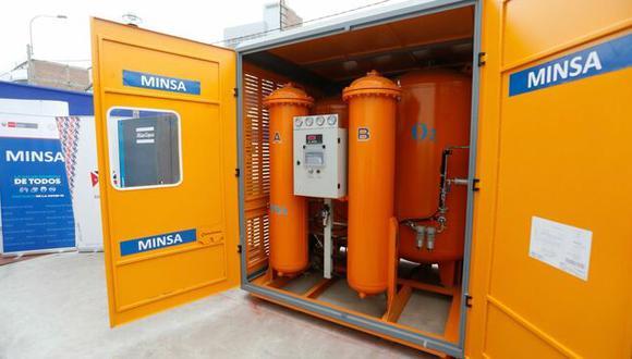 Las planta de oxígeno permitirán enfrentar una tercera ola del COVID-19. (Foto: Minsa)