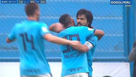 Sporting Cristal vs. Binacional: Christian Palacios anotó golazo tras asistencia de Cazulo | VIDEO