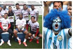 """Hinchas argentinos se burlan en la previa del Perú vs. Argentina: """"Solo saben hacer ceviche"""""""