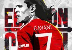 Edinson Cavani fue inscrito para la Champions League y podría debutar ante PSG