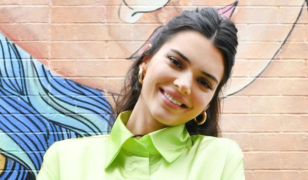 Kendall Jenner es media hermana de la siempre mediática Kim Kardashian. (AFP)